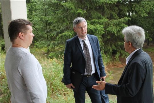 Министр промышленности и энергетики Чувашской Республики Сергей Лекарев посетил перспективные инвестиционные площадки Шумерлинского района