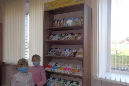 Книжная выставка «Книжные новинки» в Нижнекумашкинской сельской библиотеке