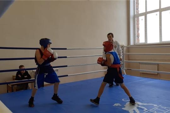 Турнир по боксу в Шумерлинском районе