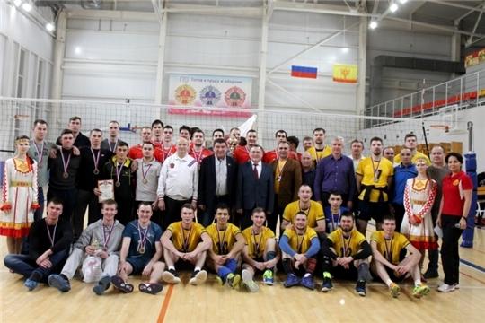 Республиканский турнир по волейболу среди мужских команд на призы Юрия Зорина