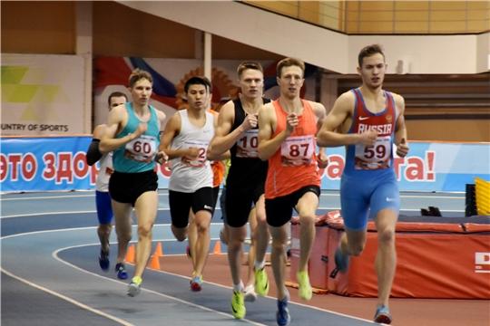 В Новочебоксарске прошли чемпионат и первенство Поволжья по легкой атлетике в помещении