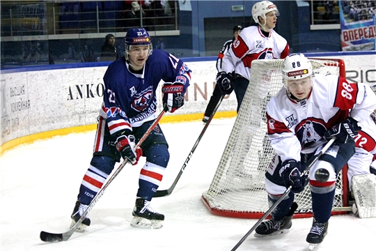 ХК «Чебоксары» трижды обыграл команду «Красноярские рыси»