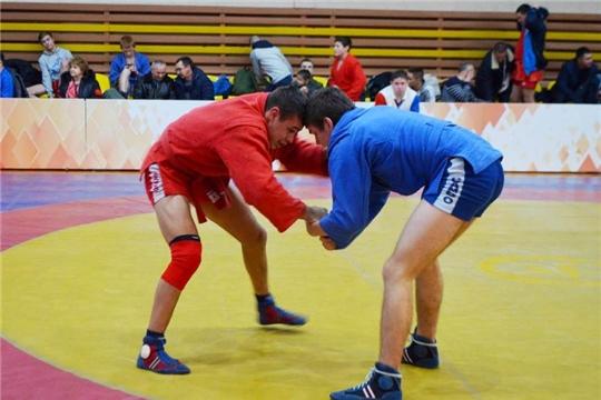 Самбисты Чувашии разыграли медали чемпионата республики