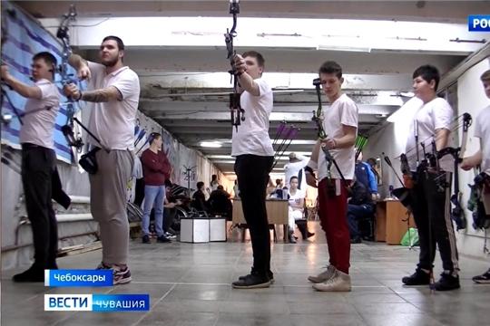 На первенстве Чувашии по стрельбе из лука определили самых метких спортсменов