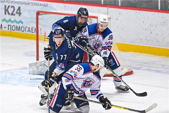 Хоккейный клуб «Чебоксары» провел матчи с командой «Динамо-Алтай» в Барнауле