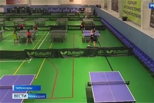 В Чебоксарах разыграли медали первенства Чувашской Республики по настольному теннису