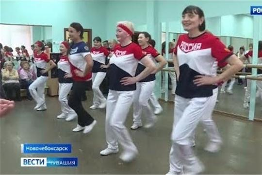 В Чувашии дамы элегантного возраста увлеклись фитнес-аэробикой