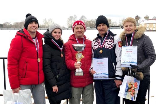 Спортсмены Чувашии – медалисты чемпионата городского округа Выкса по зимнему плаванию