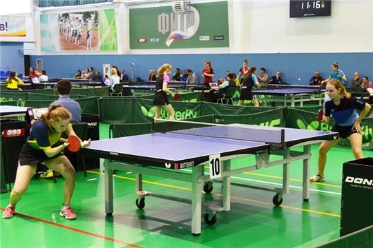 Старт дан: в Чебоксарах проходит первенство Поволжья по настольному теннису