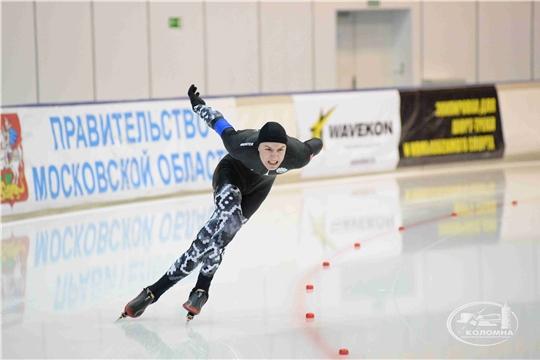 Конькобежец из Чувашии Тимур Карамов выиграл первенство России на дистанции 500 метров