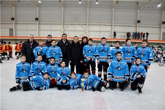 ХК «Кристалл» – победитель республиканских соревнований «Золотая шайба» в средней группе среди сельских команд