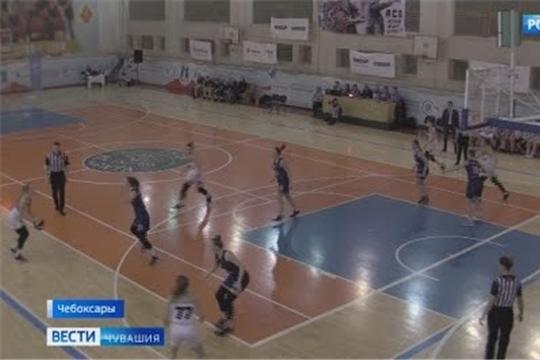 Чебоксарская баскетбольная команда «Атланта» уступила питерским «Сиренам»