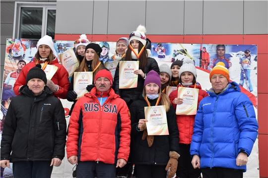 Лыжный сезон в разгаре! Разыграны медали чемпионата и первенства Чувашии в эстафетной гонке