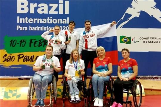 Парабадминтонистка из Чувашии Татьяна Гуреева завоевала две медали на международном турнире в Бразилии