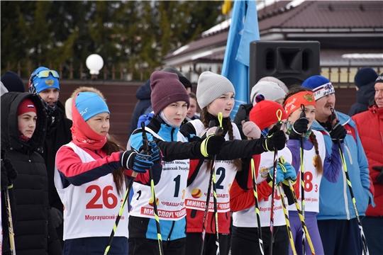 Республиканская лыжная эстафета памяти чемпиона Чувашии Юрия Федотова