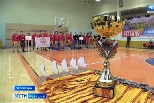 В Чувашии разыграли Кубок профильной республиканской федерации по регболу среди студентов