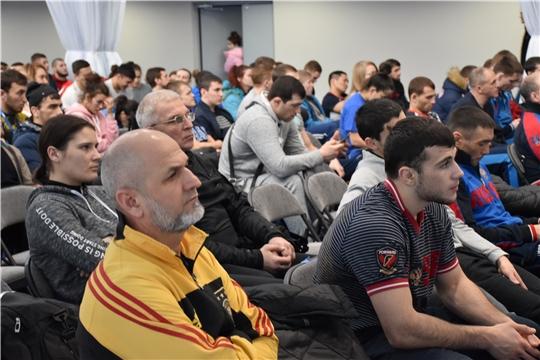 В Чебоксарах проходит двухдневный антидопинговый семинар для участников чемпионата России по самбо