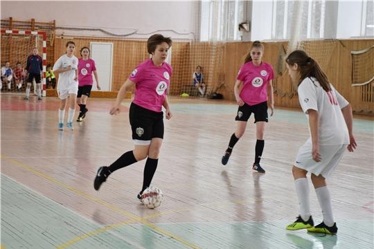 Разыгран Кубок Чувашии по мини-футболу среди женских команд