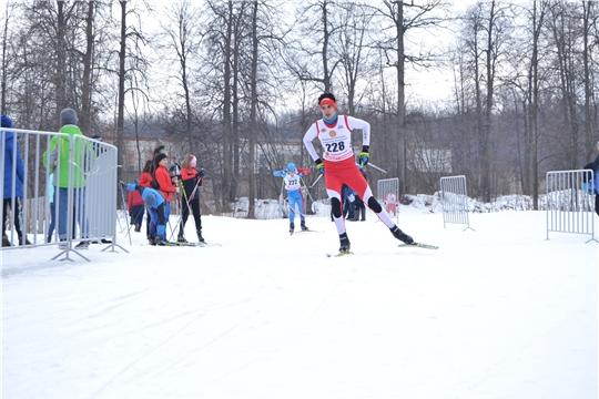 Первенство Чувашии по лыжным гонкам среди спортивных школ
