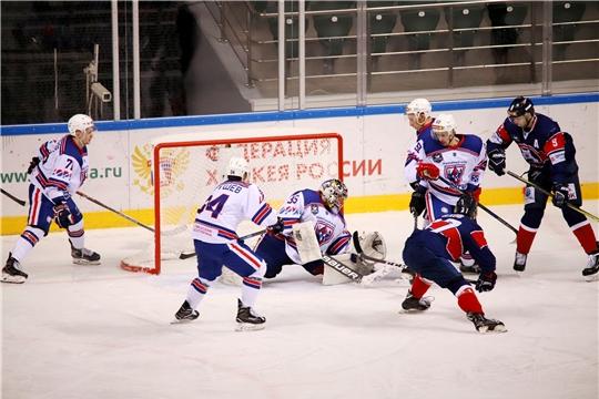 ХК «Чебоксары» вышел в полуфинал плей-офф Кубка Федерации-2020