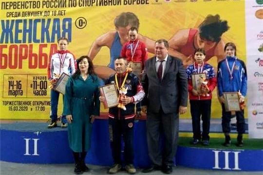 Воспитанницы чувашской школы женской вольной борьбы достойно выступили на первенстве России