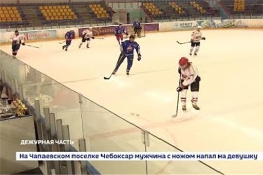 Команда МВД по Чувашии одержала победу в турнире по хоккею среди силовых структур