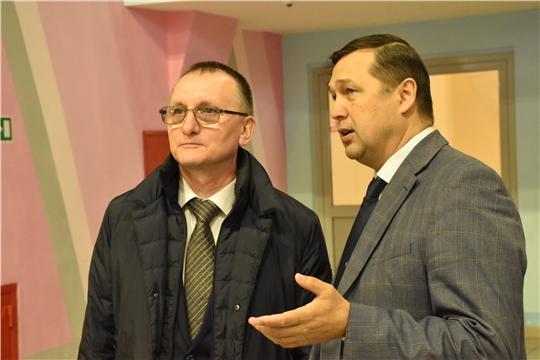 Василий Петров проинспектировал работу республиканской СШОР №4