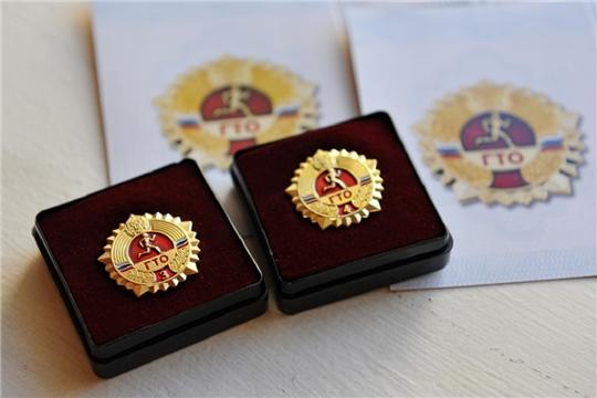 Еще 755 представителя из Чувашии удостоились золотых знаков ГТО!