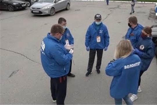 Чебоксарские спортсмены помогают горожанам в период пандемии