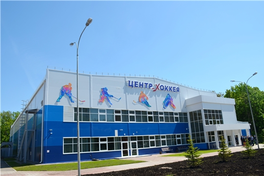 Министр спорта Василий Петров проверил техническую готовность Регионального центра по хоккею к вводу в эксплуатацию