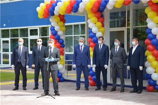 Открытие Регионального центра по хоккею