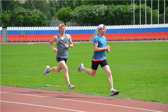 Спортсмены Чувашии возобновили тренировки на центральном стадионе «Олимпийский»