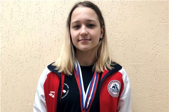 Воспитанница чувашской школы плавания Елена Давыдова находится на тренировочных сборах в Волгограде