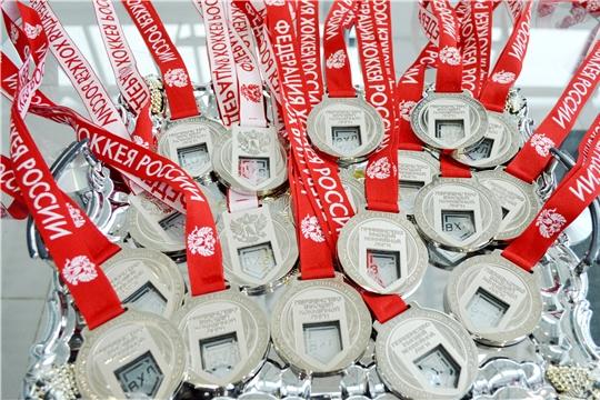 ХК «Чебоксары» - серебряный призер первенства Высшей хоккейной лиги