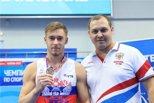 Владиславу Поляшову и его тренеру назначены единовременные премии за достижения на Кубке мира по спортивной гимнастике
