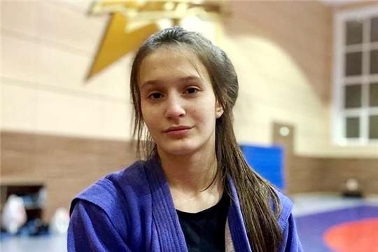 Самбистка Мария Родина находится на тренировочных сборах в Подмосковье