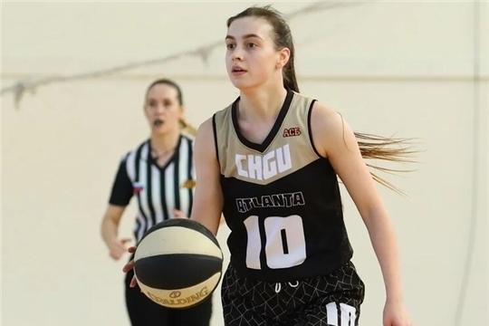 Баскетболистка «ЧГУ–Атланта» Вероника Михалёва: «Уверена, что нас ждут большие перспективы!»
