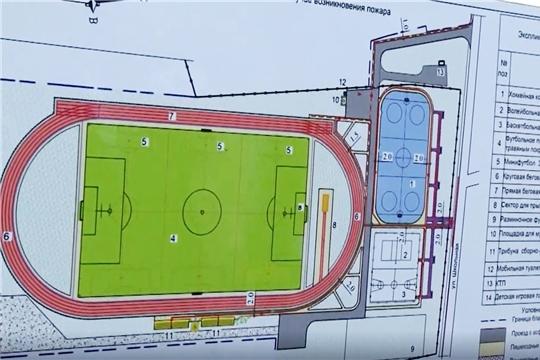 Новый спортивный объект появится в селе Яльчики
