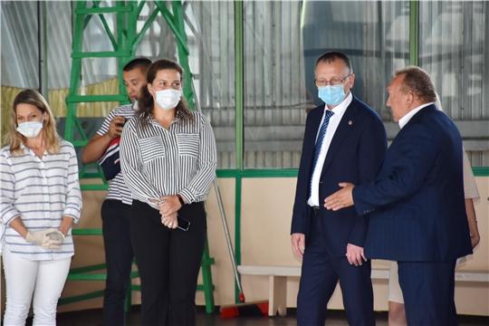 Рабочая поездка министра В.Петрова в Новочебоксарск
