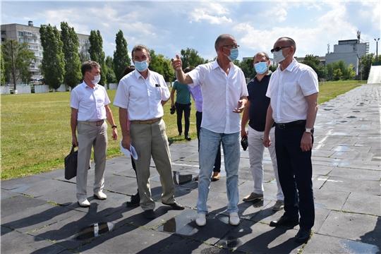 Рабочая поездка министра В.В.Петрова в г.Алатырь