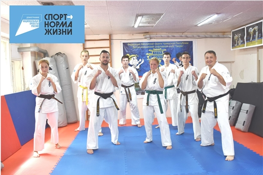 Филиал РСБИ Чувашии получил спортивный инвентарь в рамках федерального проекта «Спортивные единоборства в массы»