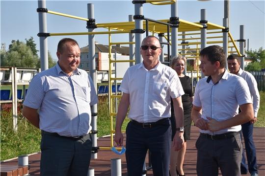 Рабочая поездка В.Петрова в Канашский, Комсомольский и Ибресинский районы