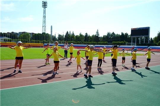 Спортсмены Чувашии отмечают День физкультурника