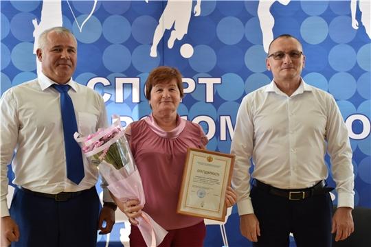 Руководитель Минспорта Чувашии Василий Петров в Чебоксарском районе принял участие в мероприятиях в честь Дня физкультурника