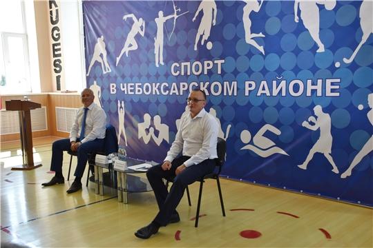 Рабочая поездка министра В.В.Петрова в Чебоксарский район