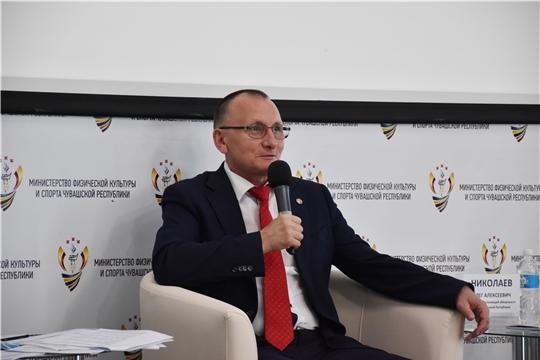 Министр физической культуры и спорта Чувашии Василий Петров: «Спорт стал неотъемлемой частью жизни жителей республики»
