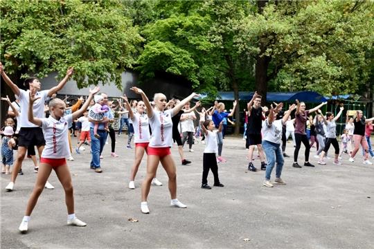 В Чувашии стартовала программа «За здоровьем в парки и на спортплощадки»