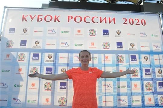 Анжелика Сидорова – обладательница Кубка России -2020 в прыжках с шестом