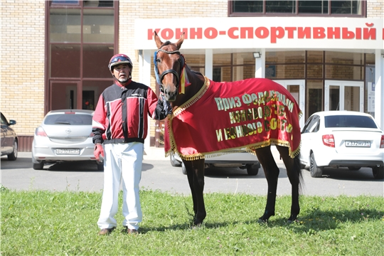 Чувашские конники успешно выступили на Казанском ипподроме