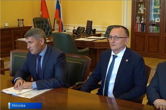 Министерство спорта РФ и Чувашия будут работать вместе над поставленными Президентом задачами